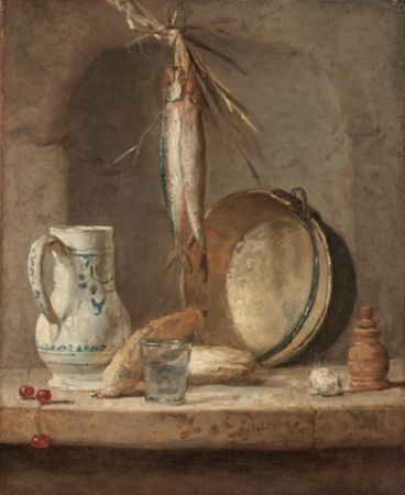 Chardin Still life with herrings