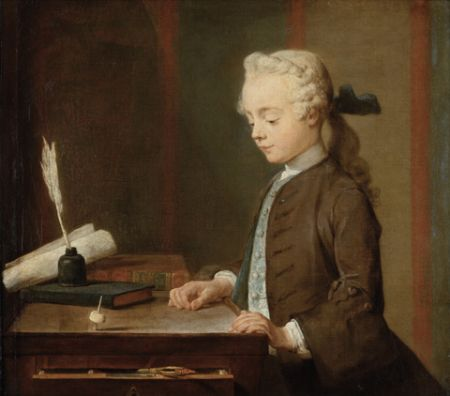 Chardin Child with a Top