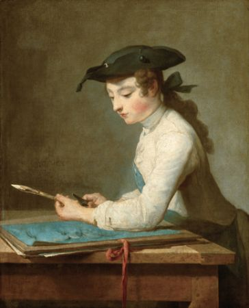 Chardin The Young Draughtsman
