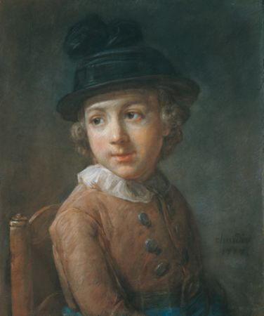 Chardin Portrait of a young boy