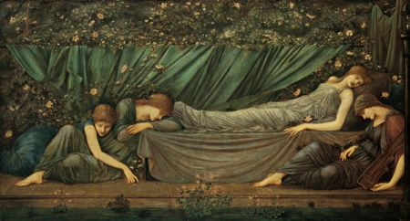 Burne-Jones Principessa addormentata