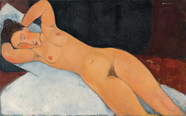 Amedeo Modigliani - Nudo, 1917