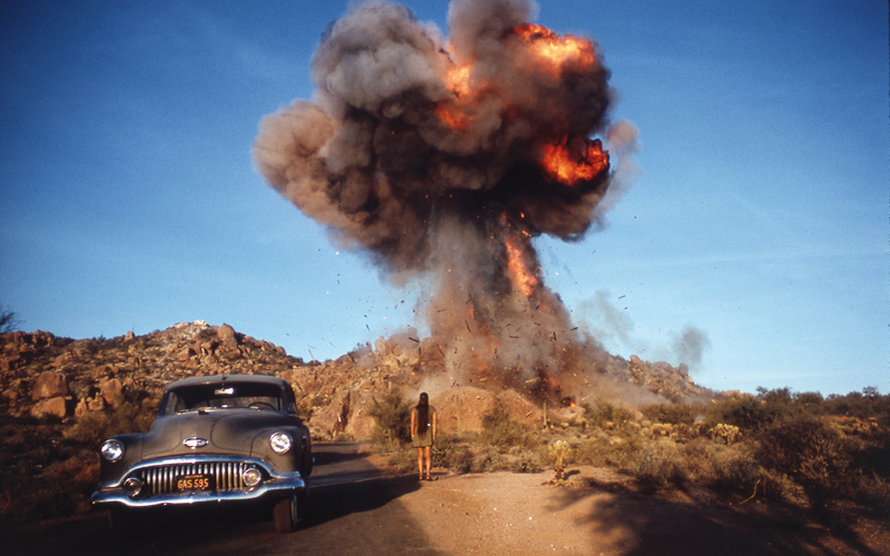 Zabriskie Point, 1970, � foto Bruce Davidson/Magnum Photos