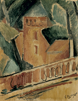 George Braque, Terrazza all'Estaque
