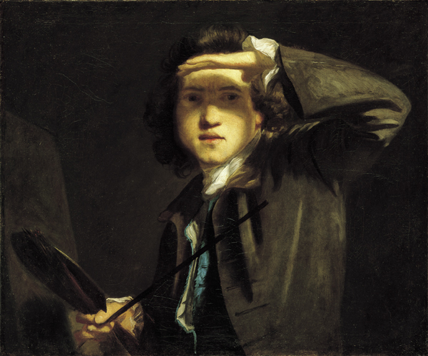 Joshua reynolds Autoritratto,  c. 1747-48