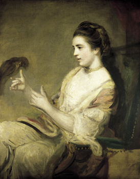 Joshua Reynolds, Kitty Fisher, c. 1763-64